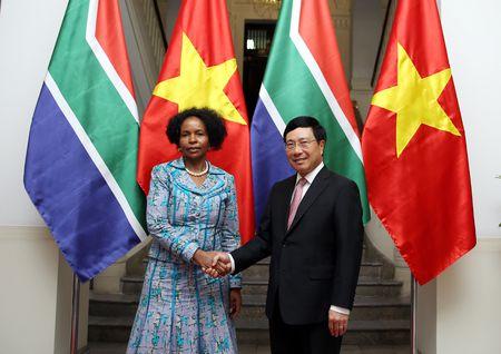 Viet Nam - Nam Phi huong toi muc tieu thuong mai 2 ty USD - Anh 1