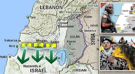 Israel don quan phia Bac: Vo dien tap de tran sang Syria? - Anh 1