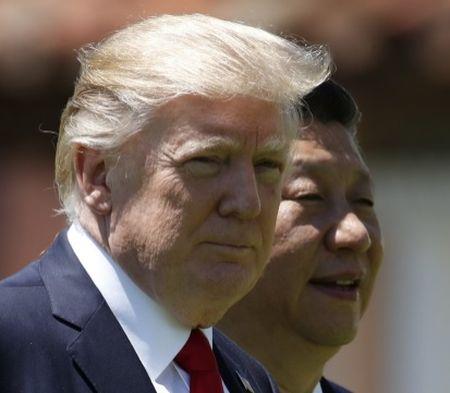 Donald Trump va Tap Can Binh cung len an Trieu Tien - Anh 1