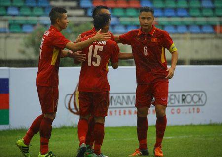 U18 cua HLV Hoang Anh Tuan dai thang ngay ra quan - Anh 1