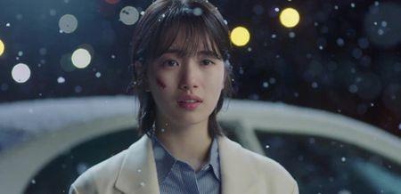 Dong phim moi voi Suzy, Lee Jong Suk khong thoat do mau, nhay lau - Anh 1