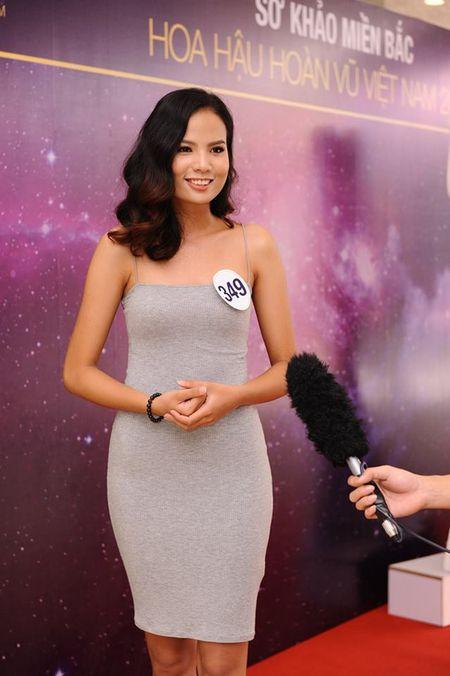 Chan dai Next Top 'tran ngap' Vong so khao Miss Universe Vietnam 2017 - Anh 10
