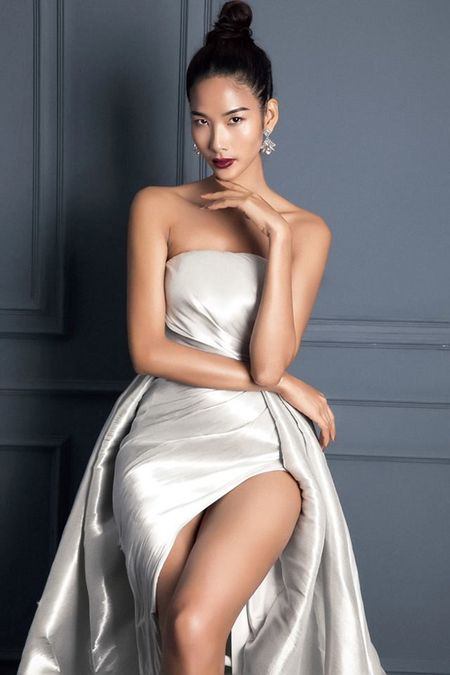 Chan dai Next Top 'tran ngap' Vong so khao Miss Universe Vietnam 2017 - Anh 13