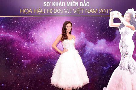 Chan dai Next Top 'tran ngap' Vong so khao Miss Universe Vietnam 2017 - Anh 1