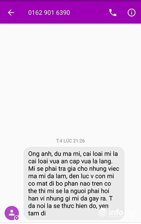 Da Nang: Ke xau de doa vo con phong vien Infonet 'mat di bo phan tren co the' - Anh 2