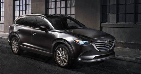 Mazda CX-9 2018 them nhieu trang bi an toan moi - Anh 1