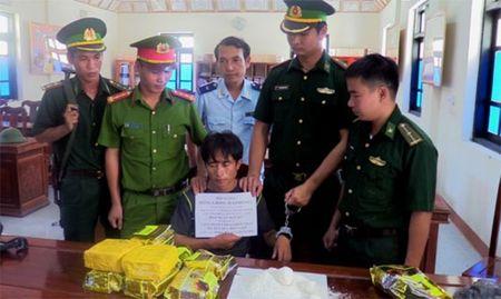 Vuot rung 'om' 10 kg ma tuy da ve Viet Nam - Anh 3