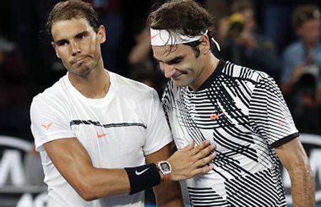 'Loi nguyen' US Open: Nadal goi nhung Federer khong tra loi - Anh 1