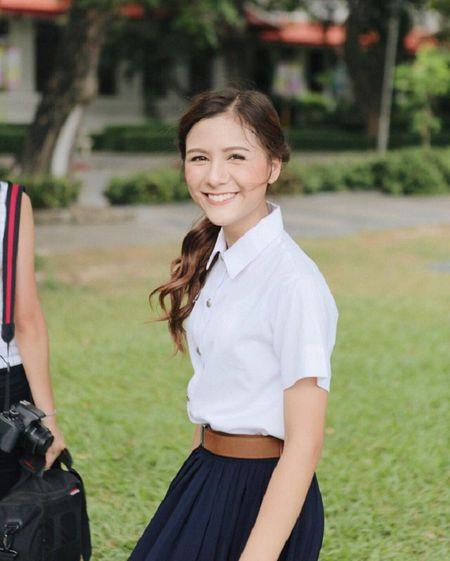 Hot girl Thai Lan voi nu cuoi khien nguoi ta yeu tham tu lan gap dau tien - Anh 4