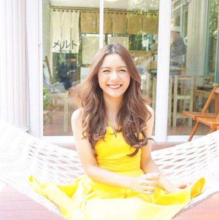 Hot girl Thai Lan voi nu cuoi khien nguoi ta yeu tham tu lan gap dau tien - Anh 5