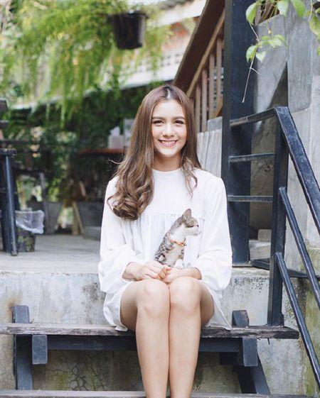 Hot girl Thai Lan voi nu cuoi khien nguoi ta yeu tham tu lan gap dau tien - Anh 7