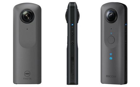 Ricoh Theta V: quay 360 do chat luong 4K, ho tro live streaming - Anh 2