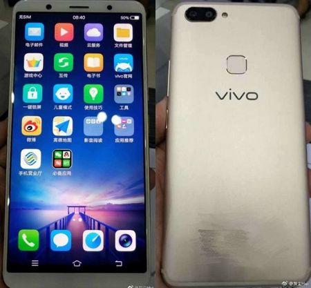 """Smartphone khong vien"" Vivo X20 lo anh thuc te - Anh 1"