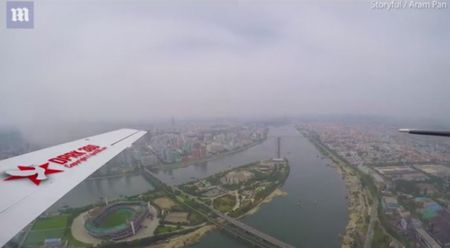 Video hiem co quay toan canh thu do Trieu Tien tu tren cao - Anh 1
