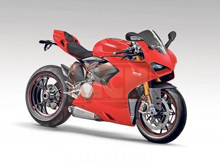 Lo hinh anh thuc te dau tien cua Ducati V4 Panigale - Anh 1
