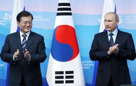 Tong thong Putin keu goi cong dong quoc te khong nen 'don Trieu Tien vao chan tuong' - Anh 1