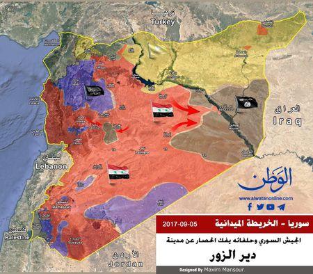 'Ho Syria' danh tan IS tan cong lon o chao lua Deir Ezzor - Anh 1