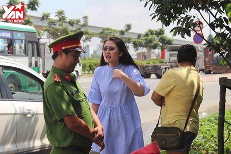 Thieu ta Doi CSGT: 'Co Ngoc Lan danh da, co loi noi thieu chuan muc voi chung toi' - Anh 2