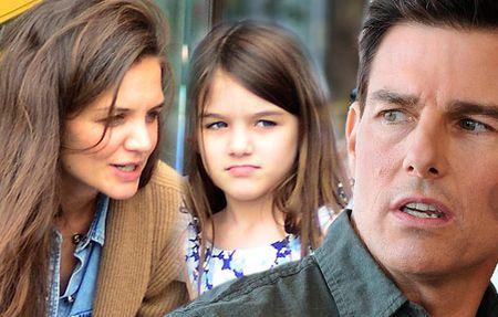 Katie Holmes phai giau chuyen hen ho vi thoa thuan tro cap sau ly hon voi Tom Cruise - Anh 2