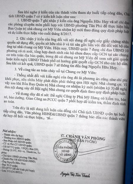 Ky 1 - Lam chung cu kem chat luong, dan song trong bat an - Anh 4