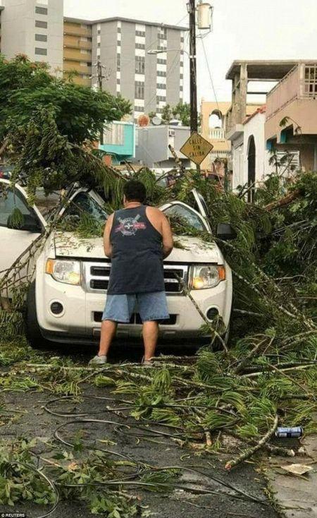 Bao Irma do bo: Puerto Rico va quan dao Virgin hoan toan bi pha huy - Anh 3
