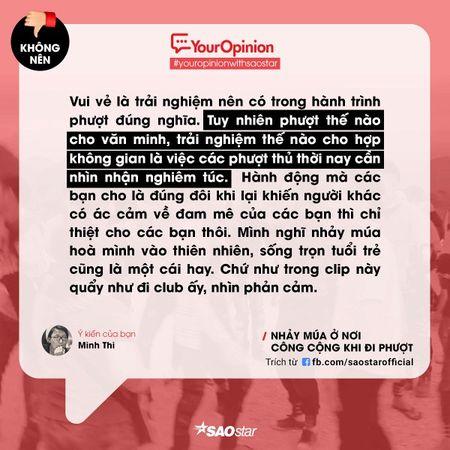 #YourOpinion: Cu dan mang noi gi ve clip phuot thu 'quay' nhac tung bung ben le duong? - Anh 5