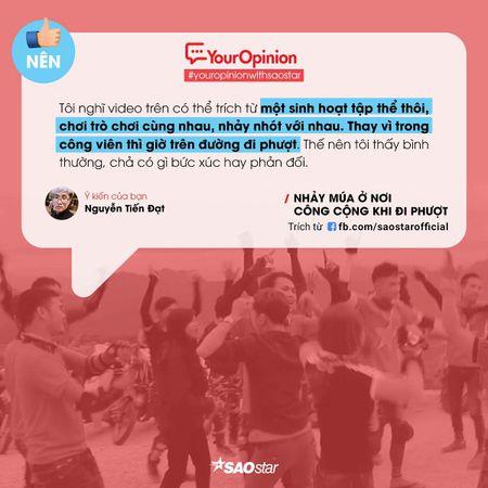 #YourOpinion: Cu dan mang noi gi ve clip phuot thu 'quay' nhac tung bung ben le duong? - Anh 7