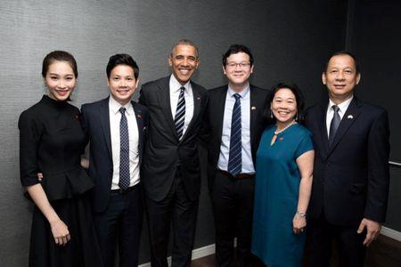 Khong nhung giau u u, chong sap cuoi cua Thu Thao con tung dien kien TT Obama - Anh 2