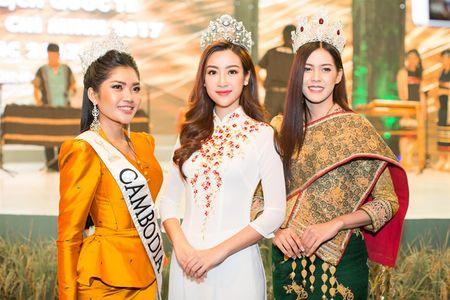 Moi dang quang, Hoa hau Hoan vu Lao sang Viet Nam 'do sac' Do My Linh - Anh 1