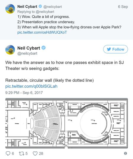 Apple dang xay dung mot tang ham bi mat tai noi dien ra su kien 12/9 - Anh 2