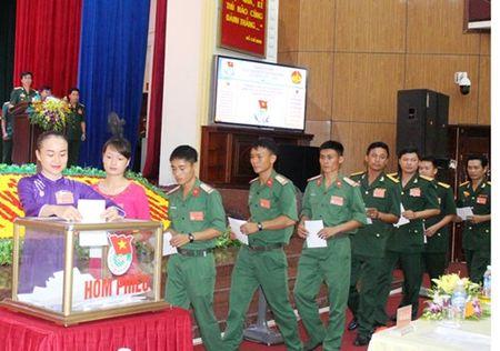 Quan khu 4 to chuc Dai hoi dai bieu Doan TNCS Ho Chi Minh lan thu IX - Anh 1
