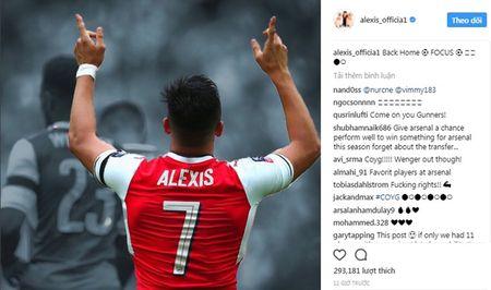Sanchez mang tin vui cho co dong vien Arsenal - Anh 1