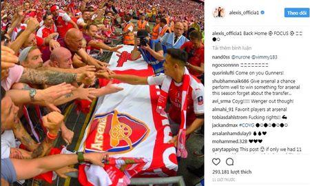 Sanchez mang tin vui cho co dong vien Arsenal - Anh 2