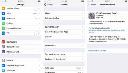 Mach ban cach tai ban beta thu 9 cua iOS 11 ve trai nghiem tren iPhone - Anh 4