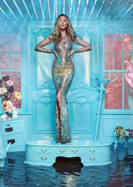Abbey Clancy 'mac nhu khong' chup hinh cho Britain's Next Top Model - Anh 4