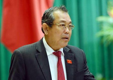 Pho Thu tuong Truong Hoa Binh len duong tham, lam viec tai Trung Quoc - Anh 1
