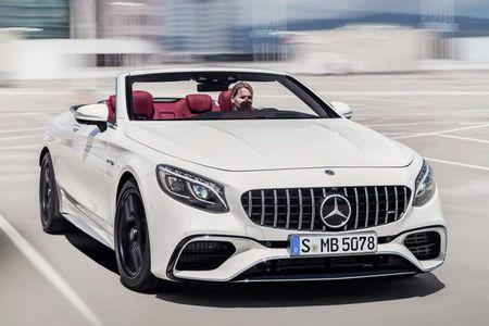 Mercedes-Benz S-Class Cabriolet 2018 ra mat - Anh 5