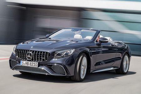 Mercedes-Benz S-Class Cabriolet 2018 ra mat - Anh 6