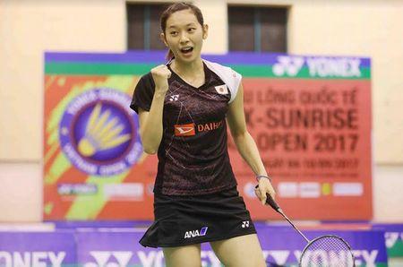 Vu Thi Trang that bai o tran chung ket Giai Vietnam Open 2017 - Anh 2