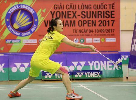 Vu Thi Trang that bai o tran chung ket Giai Vietnam Open 2017 - Anh 3