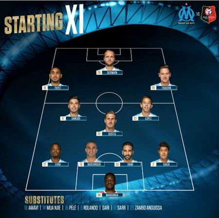 Marseille 1-3 Rennes: Tot cung that vong - Anh 1
