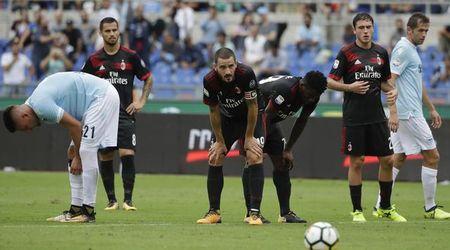 Tham bai truoc Lazio, ca the gioi dang cuoi Milan - Anh 1