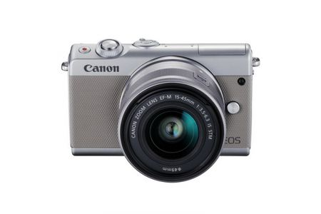 Canon EOS M100 nhieu tinh nang moi, gia chi hon 13 trieu dong - Anh 1