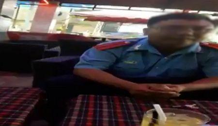 Nghi van thanh tra giao thong dua hoi lo: Lanh dao So GTVT Dong Nai len tieng - Anh 1