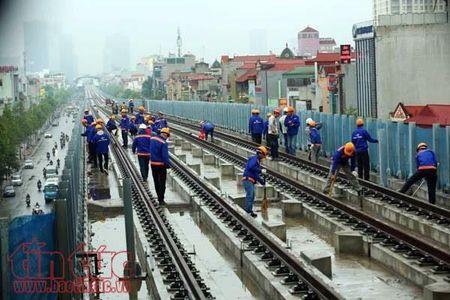 Duong sat tren cao Cat Linh - Ha Dong lai 'lo hen' vi 'thieu von'? - Anh 1