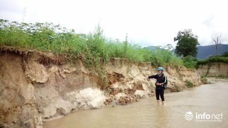 Gia Lai: Hoang mang vi suoi 'nuot' hang chuc hecta dat trong lua - Anh 1