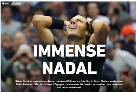 Bao chi the gioi: 'Quai vat' Nadal, mot nam kinh ngac - Anh 1