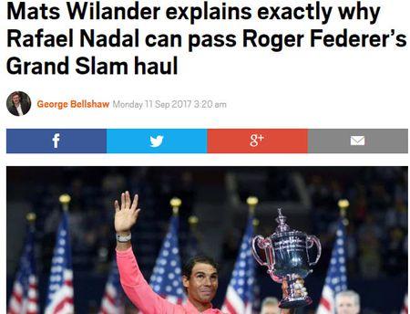Thong tri US Open: Nadal vi dai nhat, Federer sap 'hit khoi' - Anh 2