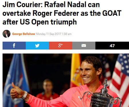 Thong tri US Open: Nadal vi dai nhat, Federer sap 'hit khoi' - Anh 4