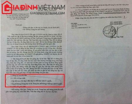Pho Giam doc So GD - DT Hai Duong ra van ban 'ep' hoc sinh mua sach tham khao? - Anh 1